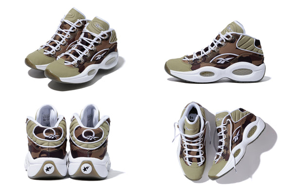 7b9f6c46f REEBOK CLASSIC X A BATHING APE® X mita sneakers. 1st Camo Reebok Question:  $209.99