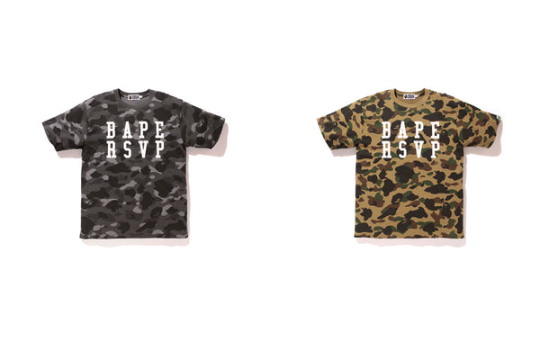 The Chicago luxury boutique RSVP Gallery teams up once again with A BATHING  APE® to do a collaborative capsule including hats 4c811fb6850