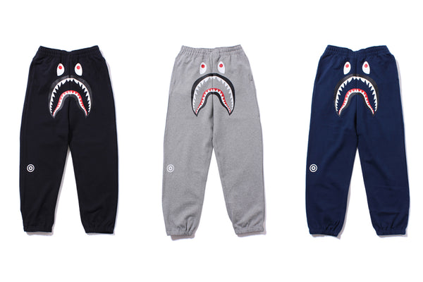 half price classic buy cheap SHARK SWEAT PANTS / 1ST CAMO SWEAT PANTS | us.bape.com