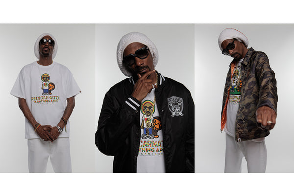 A BATHING APE® x SNOOP LION COLLECTION f541f1d0e