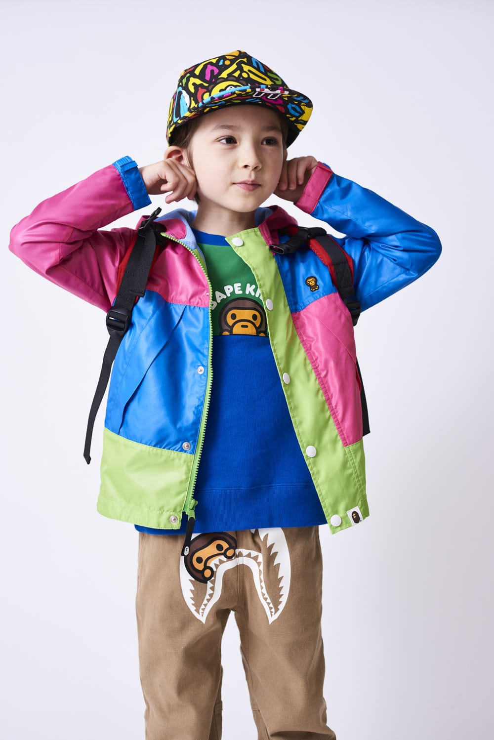 A BATHING APE 2020 SS KIDS' LOOKBOOK 1