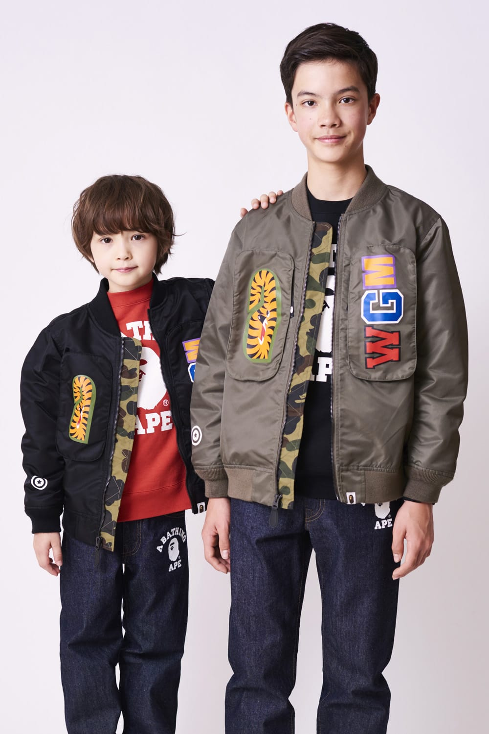 A BATHING APE 2020 SS KIDS' LOOKBOOK 12