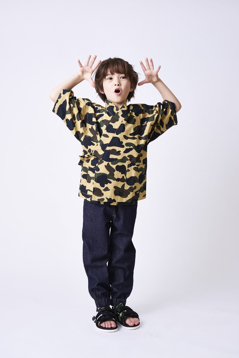 A BATHING APE 2020 SS KIDS' LOOKBOOK 9