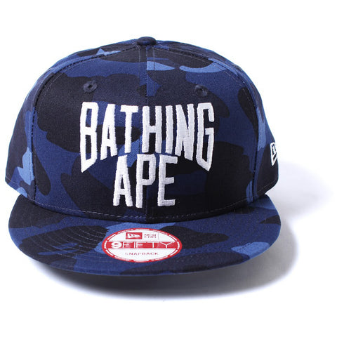 COLOR CAMO NEW ERA SNAP BACK CAP
