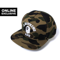 1ST CAMO SNAP BACK CAP MENS