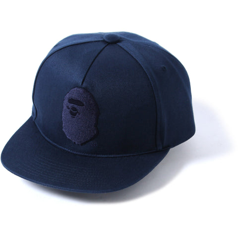 APE HEAD SNAP BACK CAP MENS