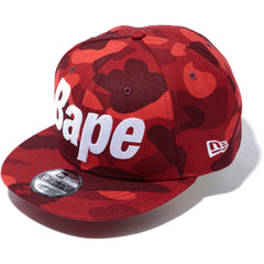 COLOR CAMO NEW ERA SNAP BACK CAP MENS