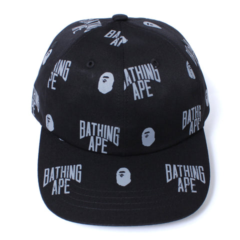MONOGRAM PANEL CAP MENS