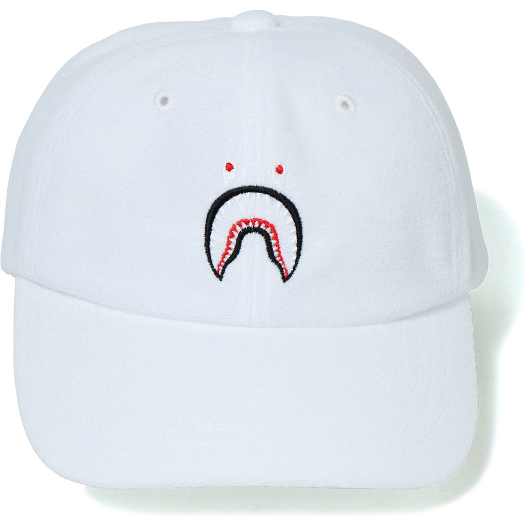 SHARK EMBROIDERY PILE PANEL CAP LADIES
