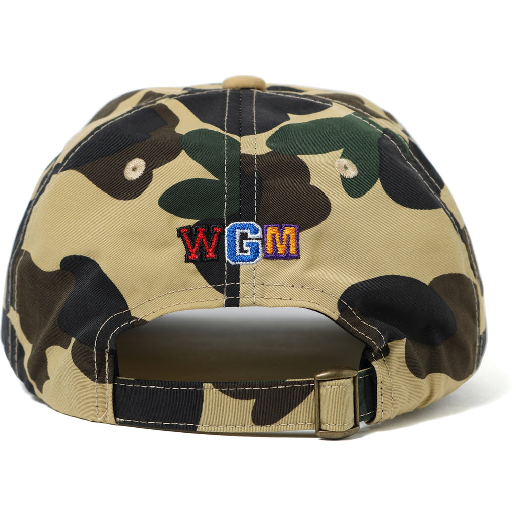 1ST CAMO SHARK PANEL CAP MENS