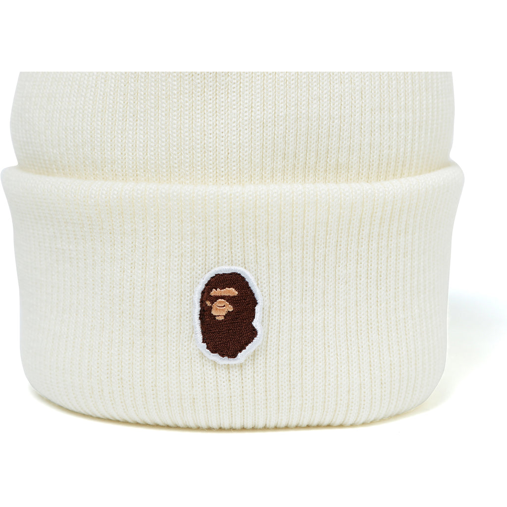 APE HEAD ONE POINT KNIT CAP MENS