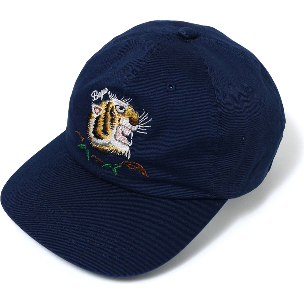 TIGER EMBRIODERY PANEL CAP MENS