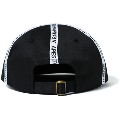 BAPE TAPE PANEL CAP MENS