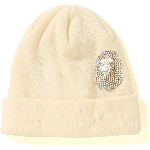 APE HEAD SWAROVSKI KNIT CAP MENS