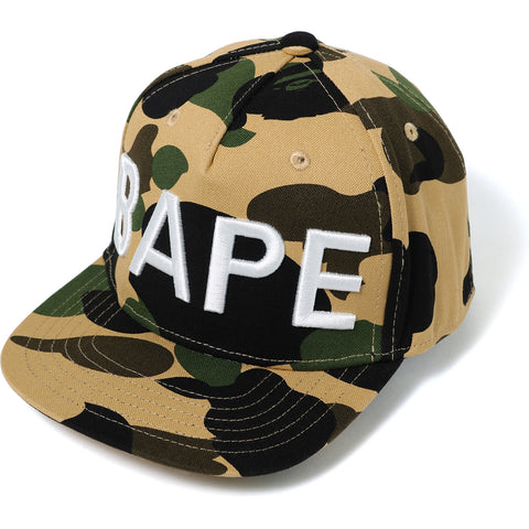 1ST CAMO SNAP BACK CAP KIDS