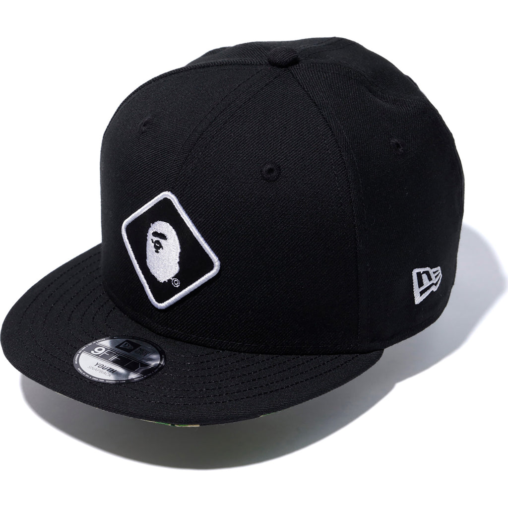 128a2ca07351b BAPE X FCRB NEW ERA EMBLEM 9FIFTY SNAP BACK MENS