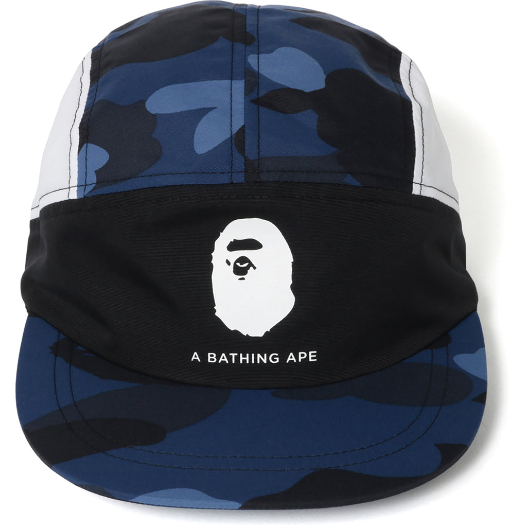 COLOR CAMO COLOR BLOCK RUNNING CAP MENS