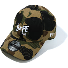 1ST CAMO BAPE STA NEW ERA PANEL CAP MENS