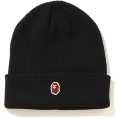 APE HEAD ONE POINT KNIT CAP LADIES