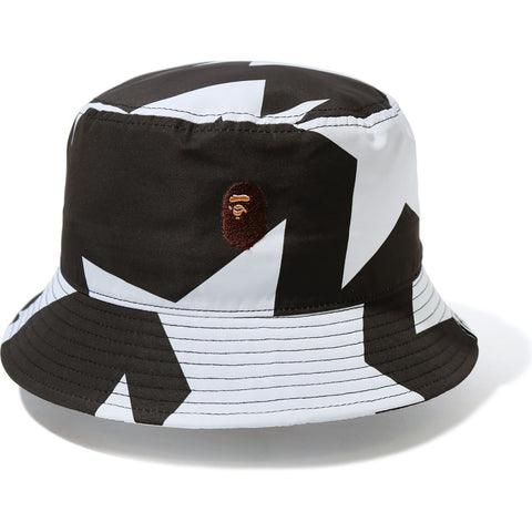 STA PATTERN BUCKET HAT MENS