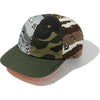 MAD SHARK CRAZY CAMO PANEL CAP MENS