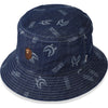 SHARK PATTERN BUCKET HAT MENS