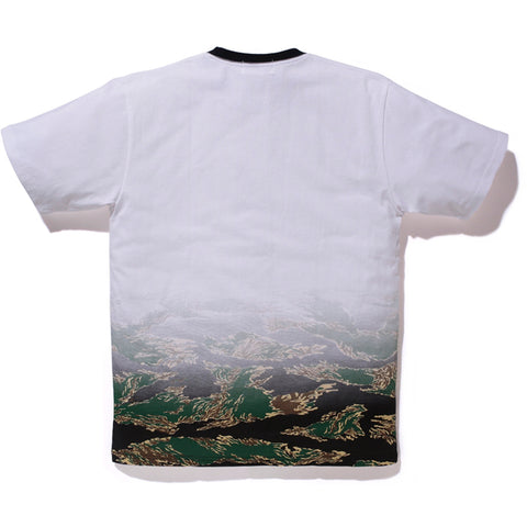 TIGER CAMO GRADATION COLLEGE TEE