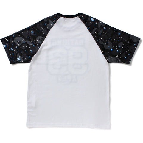 SPACE CAMO RAGLAN SLEEVE TEE
