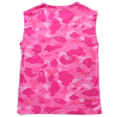 COLOR CAMO COLLEGE SLEEVELESS /L