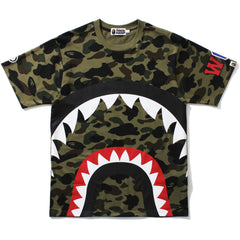 1ST CAMO BIG SHARK TEE MENS