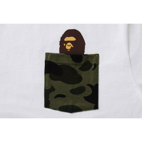 1ST CAMO POCKET TEE MENS