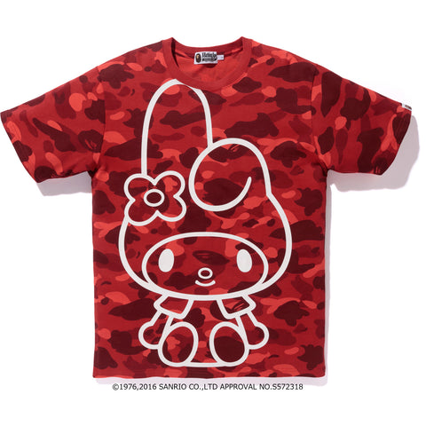 MY MELODY COLOR CAMO LINE TEE