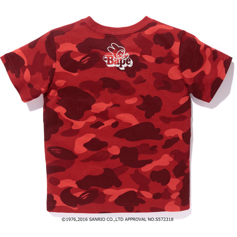 MY MELODY COLOR CAMO LINE TEE KIDS