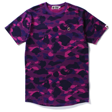 COLOR CAMO LONG LENGTH TEE M