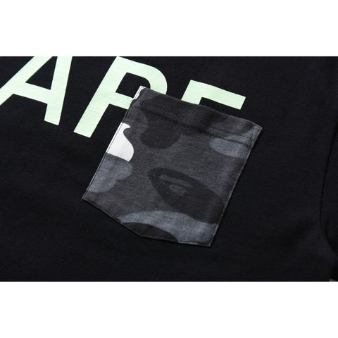 CITY CAMO POCKET BAPE TEE MENS