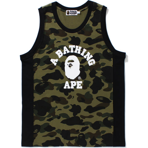 1ST CAMO COLLEGE TANK TOP MENS