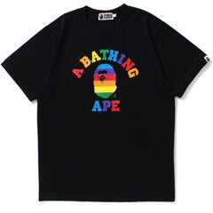 RAINBOW COLLEGE TRIM TEE MENS