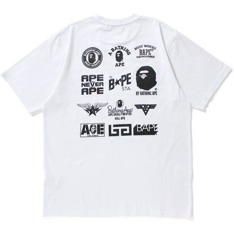 MULTI LOGO TEE MENS