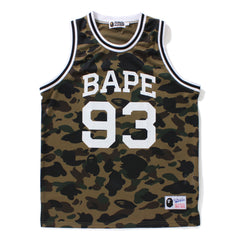 1 ST CAMO BASKETBALL TANK TOP MENS