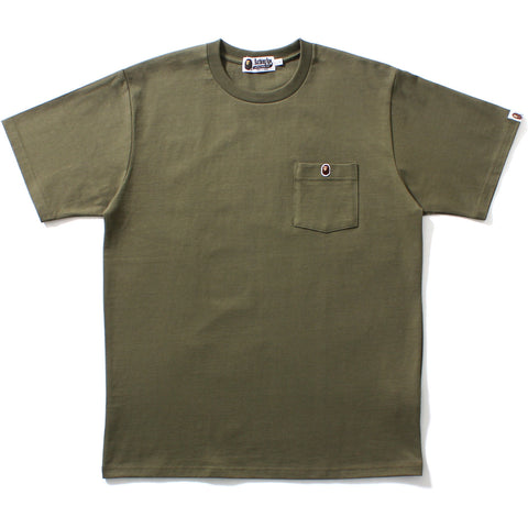 ONE POINT POCKET TEE MENS