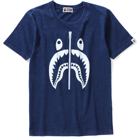 INDIGO SHARK BIG TEE LADIES