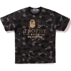 BAPE X TROPHY ROOM CAMO TEE MENS