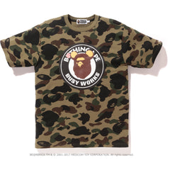 1ST CAMO BE@R BUSY WORKS TEE MENS