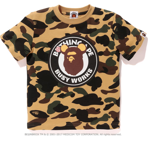 1ST CAMO BE@R BUSY WORKS TEE KIDS