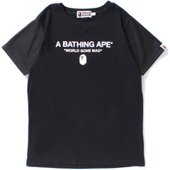 APE HEAD MESH SLEEVE TEE LADIES