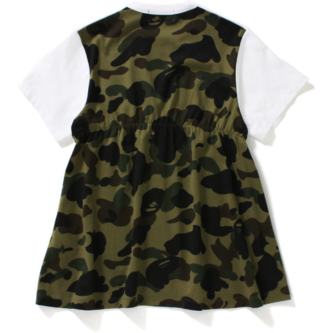 1ST CAMO BACK FLARE TEE LADIES