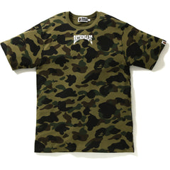 1ST CAMO BATHING APE HEAD TEE MENS