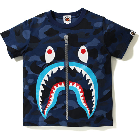 COLOR CAMO SHARK TEE KIDS