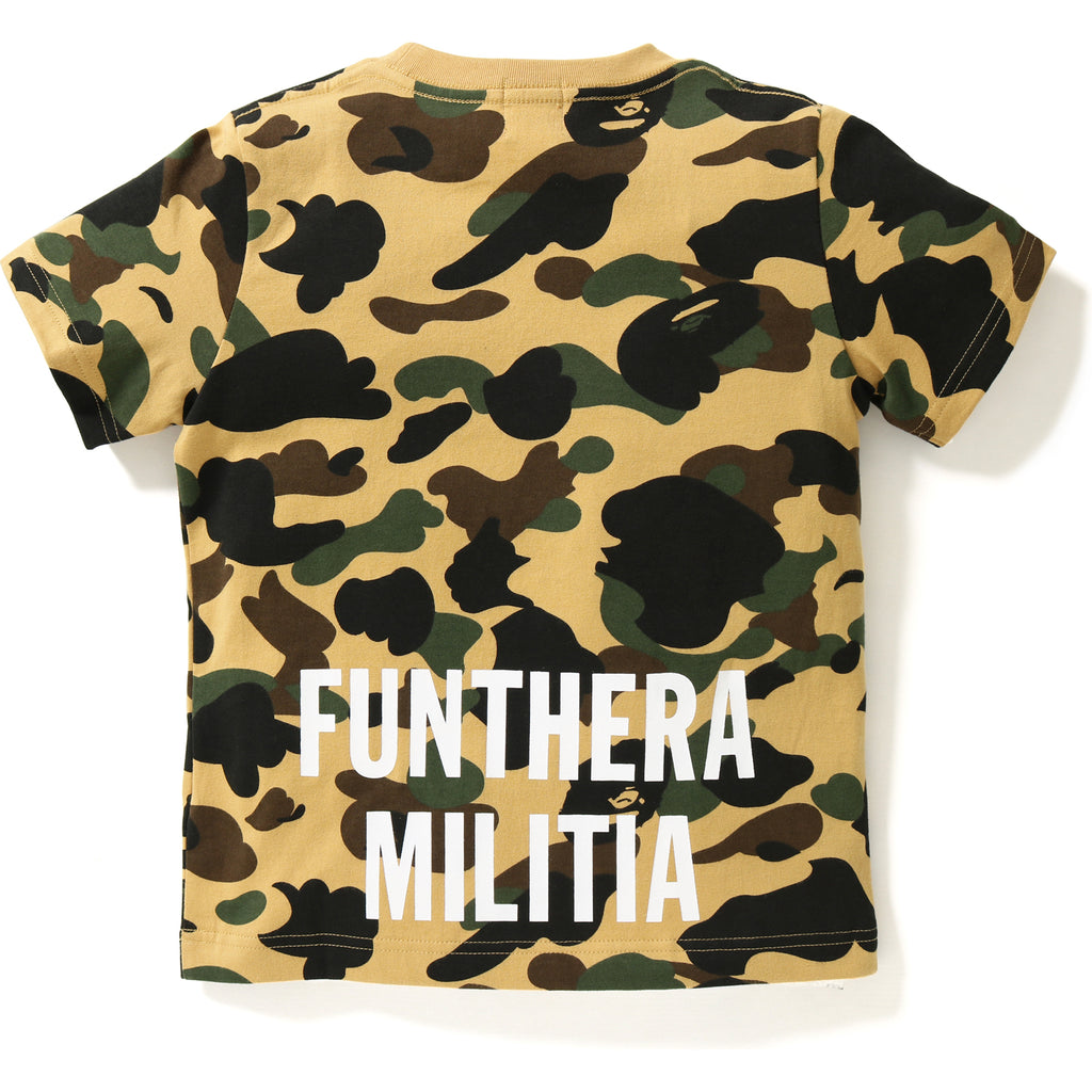 1ST CAMO TIGER TEE KIDS