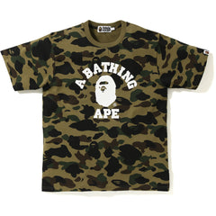 1ST CAMO COLLEGE TEE MENS